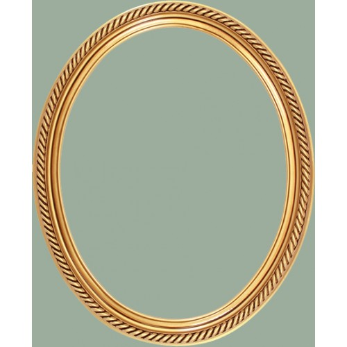 classics series 15 antique gold oval frame